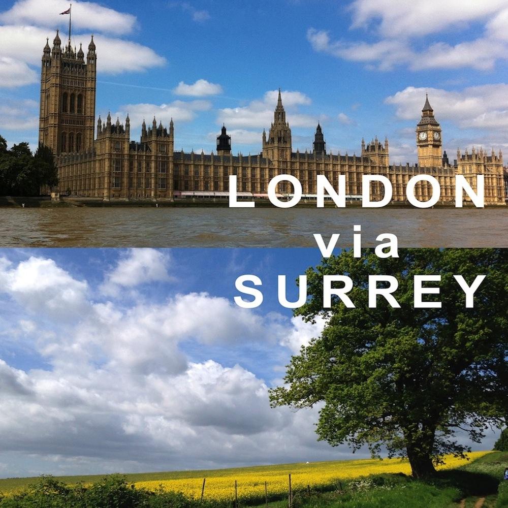 Download App ~ London via Surrey