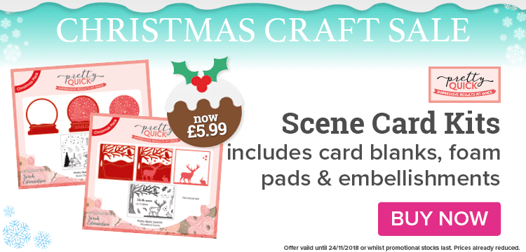 Scene card kits now just £5.99!