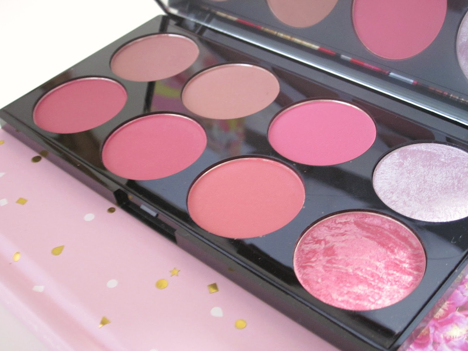 ... Palette Sugar E. The Amber Spyglass Review Make Up Revolution Ultra Blush And