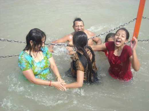 With Sexey aunties nued bathing photos possible