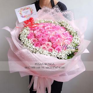Madame Florist, toko bunga dijakarta, hand bouquet anniversary, toko bunga online murah,