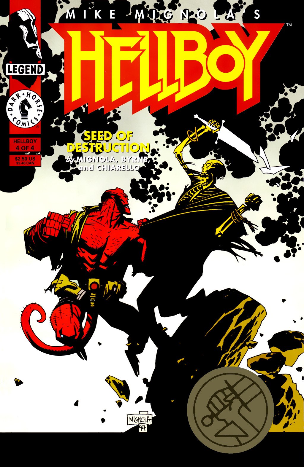 Hellboy: Seed of Destruction 4 Page 1