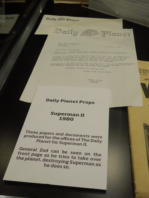 Superman II Daily Planet props