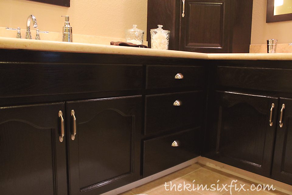 Thomasville Kitchen Cabinets Chairs With Rollers I Purchased Stain Directly From (the Cabinet ...