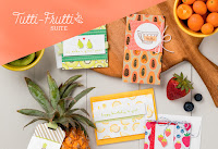 Look more closely at the Tutti-Frutti Product Suite by Stampin' Up!