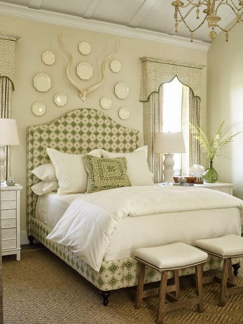 Bedroom design ideas decorating above your bed driven - Wall art above bed ...