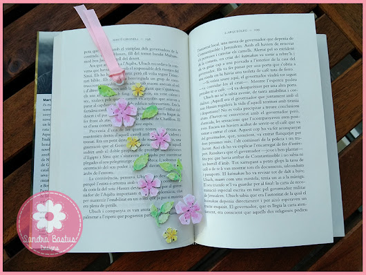 Watercolor acetate bookmark