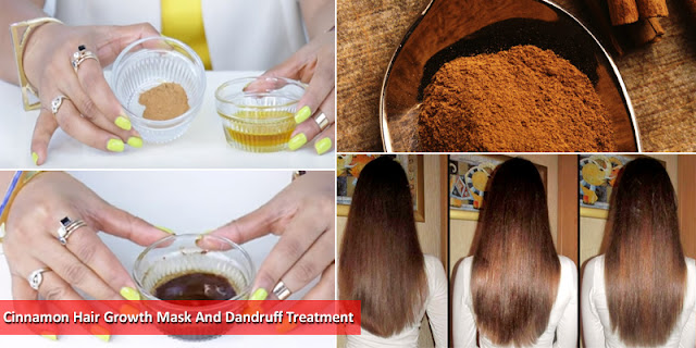 Cinnamon Hair Growth Mask And Dandruff Treatment