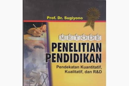 Download Metode Penelitian Kuantitatif Kualitatif Dan R D Sugiyono Ebook