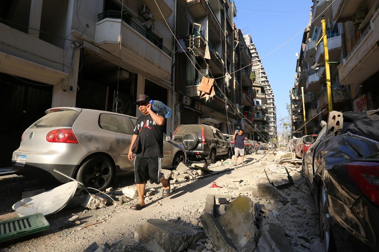 El gobernador de Beirut afirma que la explosión dejó 300.000 personas sin hogar y daños por 3.000 millones de dólares