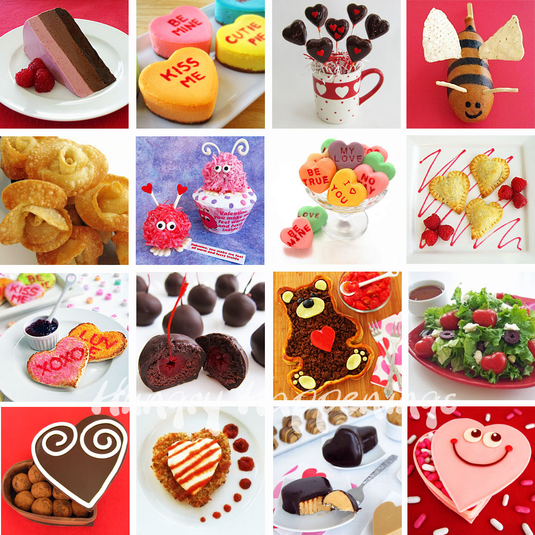 Recipes For Valentine S Day Including Conversation Heart Cheesecakes