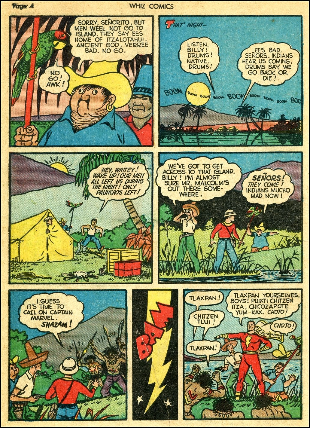 WHIZ Comics issue 22 - Page 6