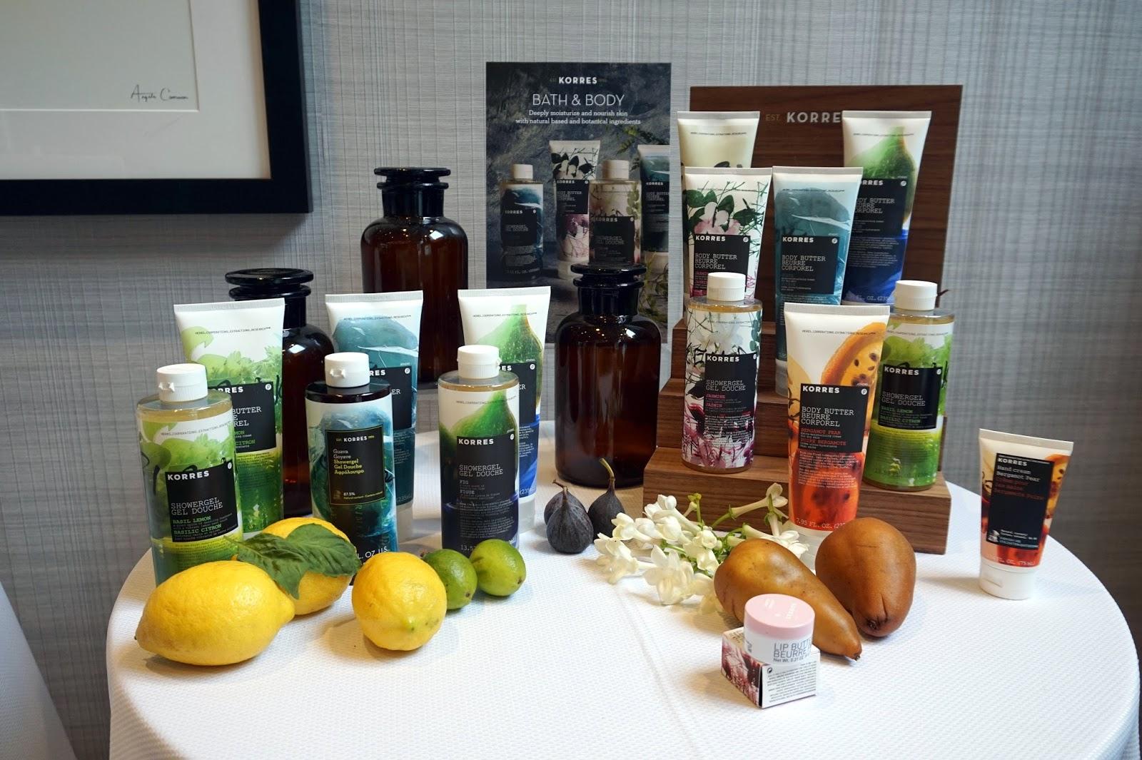 korres bath and body