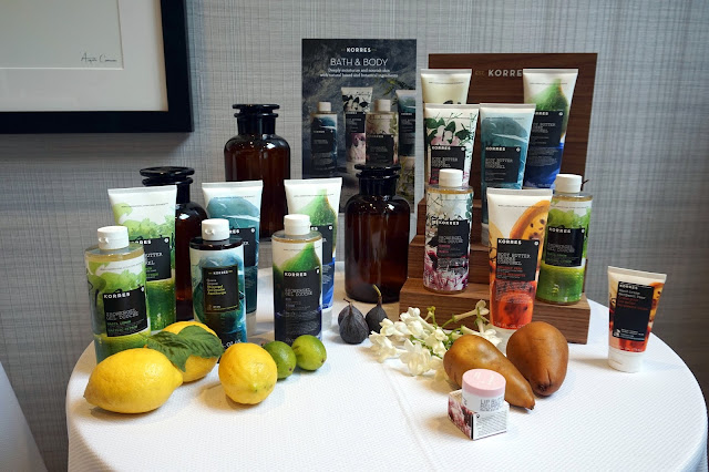 korres bath and body