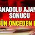 Anadolu Ajansı referandum sonucunu bir gün önceden bildi! | Akademi Dergisi