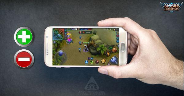 Dampak Positif dan Negatif Jika Keseringan Bermain Mobile Legends