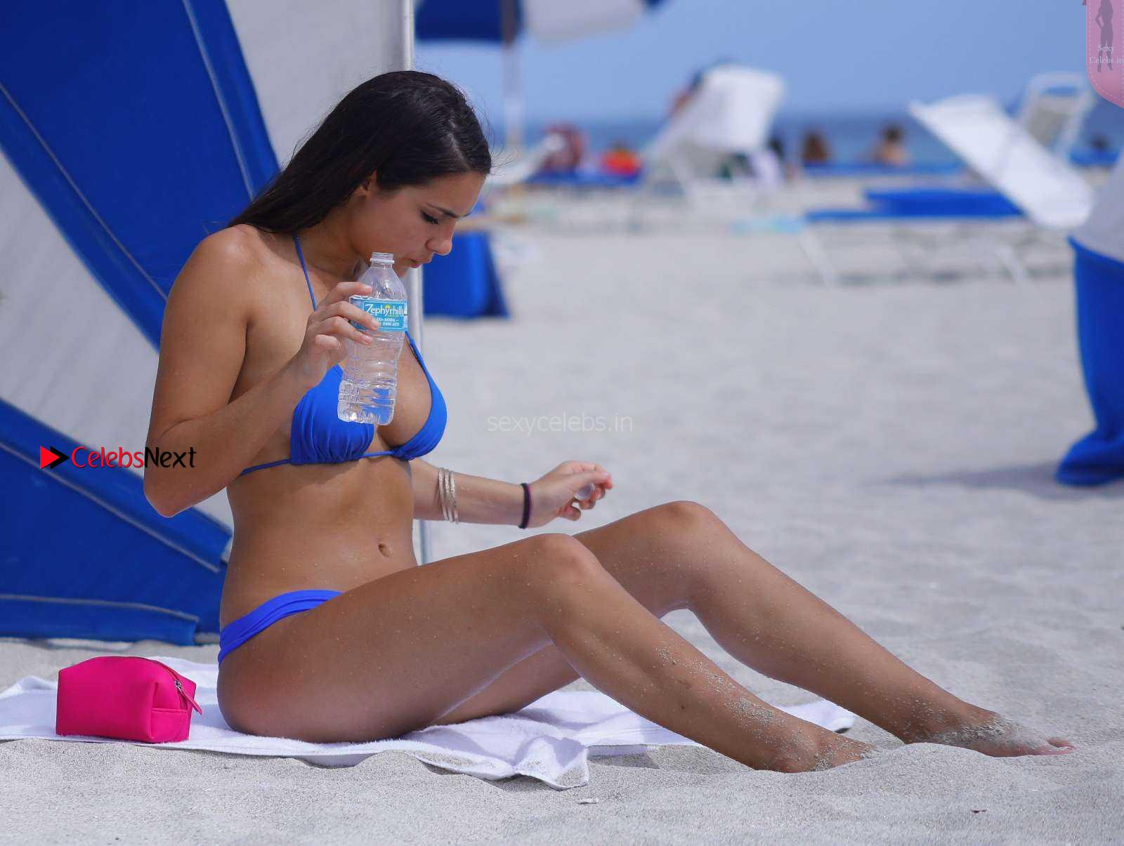 Tao Wickrath in Blue thong and Bikini WOW huge Ass Butt Naked Tits Amazing Wet Beatuy
