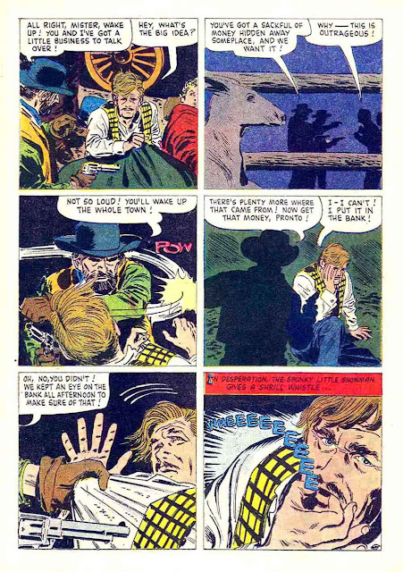 Rin Tin Tin v1 #34 dell tv western comic book page art by Alex Toth