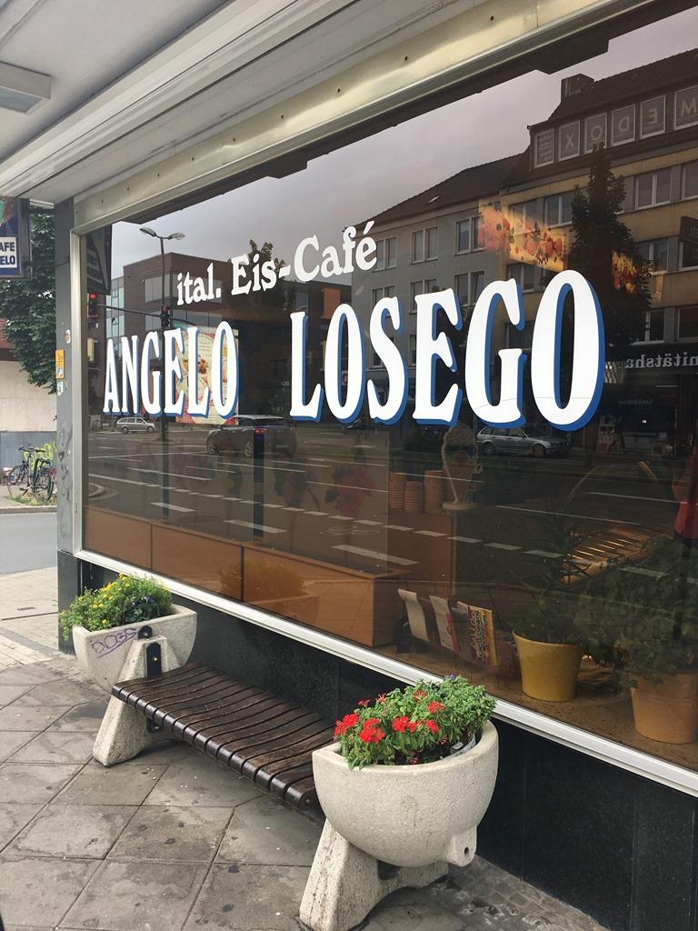 Eiscafé Angelo Losego Dortmund, Dortmunder U, beste italienische Eisdiele in Dortmund