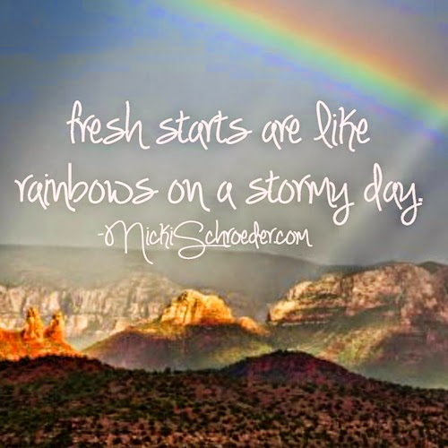 rewrite your story, it's time for a fresh start!