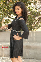 Telugu Actress Pavani Latest Pos in Black Short Dress at Smile Pictures Production No 1 Movie Opening  0200.JPG