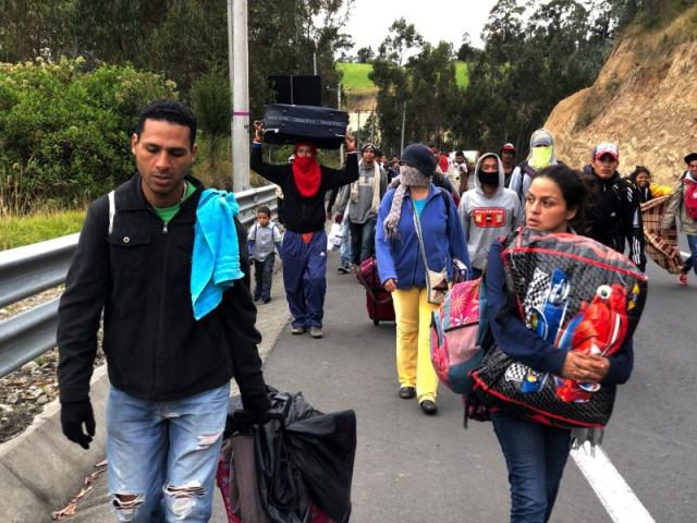 Perú espera llegada de 20 mil venezolanos a su frontera en próximas 48 horas