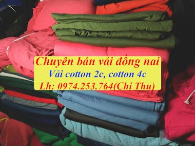 hình ảnh vải khúc cotton 2c hàn quốc giá rẻ mua ở long khánh