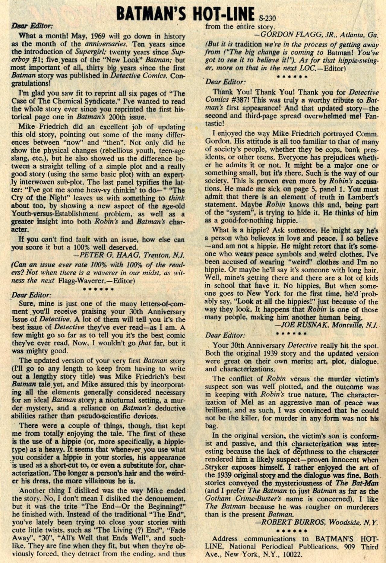 Detective Comics (1937) 391 Page 19