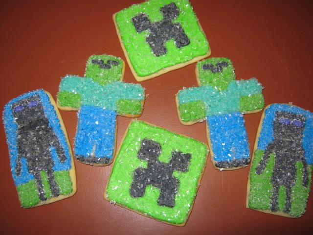 Cashmere Cookies: Minecraft Craze