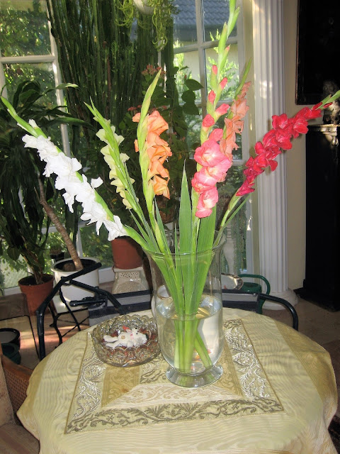 Feleségem névnapi virágai