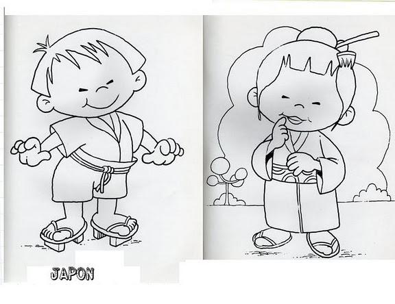 Dibujos De Niños De Diferentes Imagui