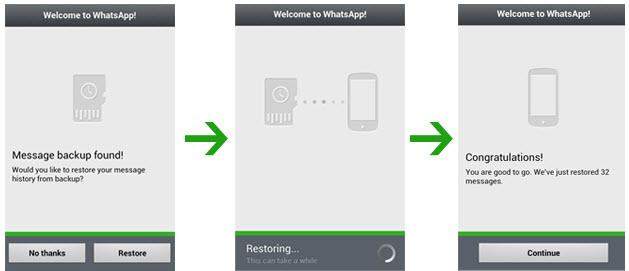 Top 10 Tips dan Tricks Rahasia WhatsApp #8 Mengembalikan pesan Whatsapp yang terhapus