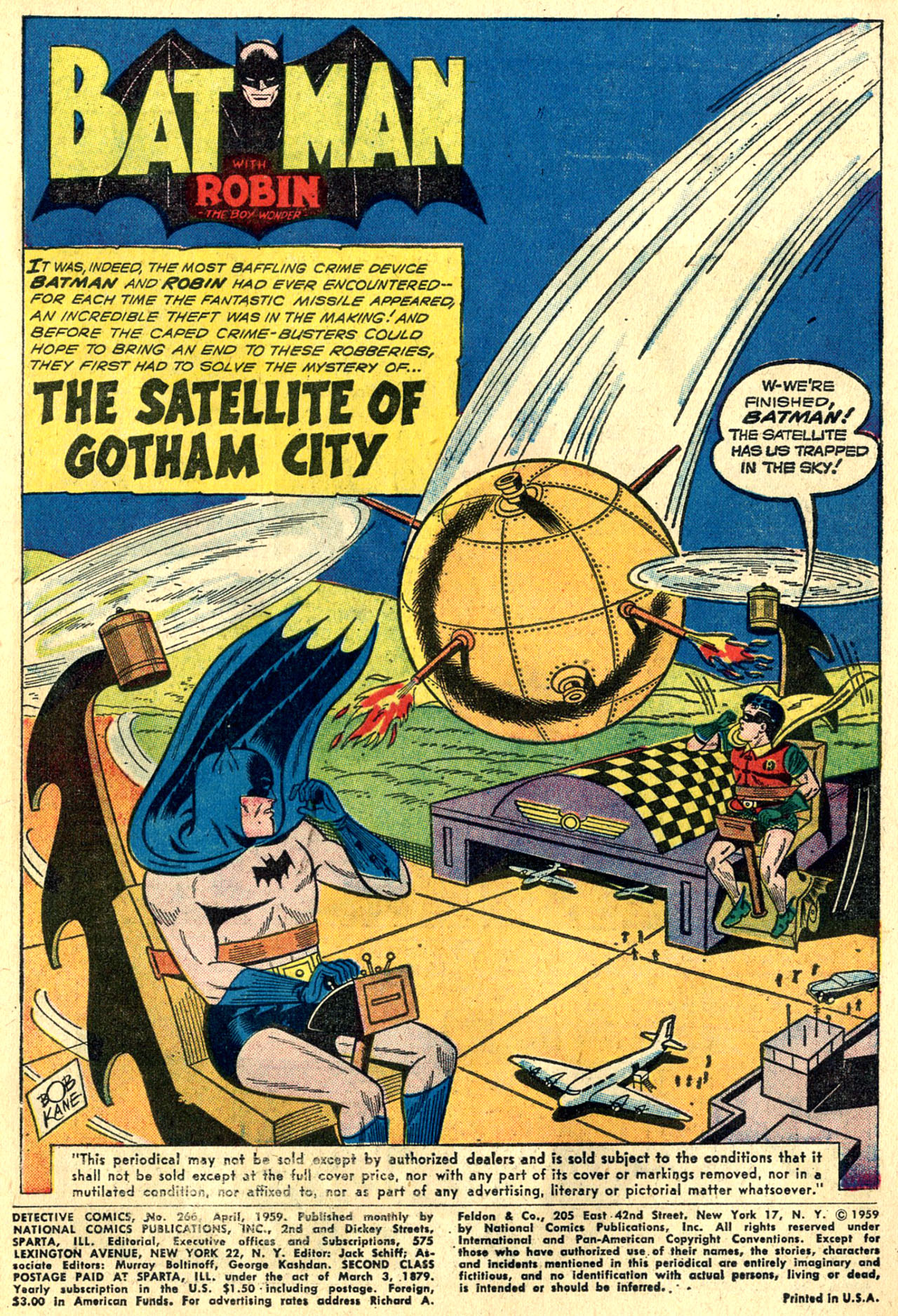 Detective Comics (1937) 266 Page 2