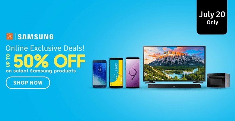 Lazada Offers up to 50% Off on Select Samsung Products!