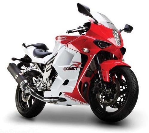 Superbike Heaven: Hyosung GT650R