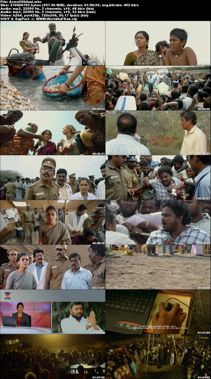 Aramm 2017 Dual Audio UNCUT HDRip 480p 350Mb x264 world4ufree.vip , South indian movie Aramm 2017 2018 hindi dubbed world4ufree.vip 480p hdrip webrip dvdrip 400mb brrip bluray small size compressed free download or watch online at world4ufree.vip