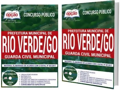Apostila Concurso Prefeitura de Rio Verde 2018 - Guarda Civil Municipal