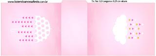 Etiqueta Tic Tac para imprimir gratis de Lluvia de Bendiciones para Nena.