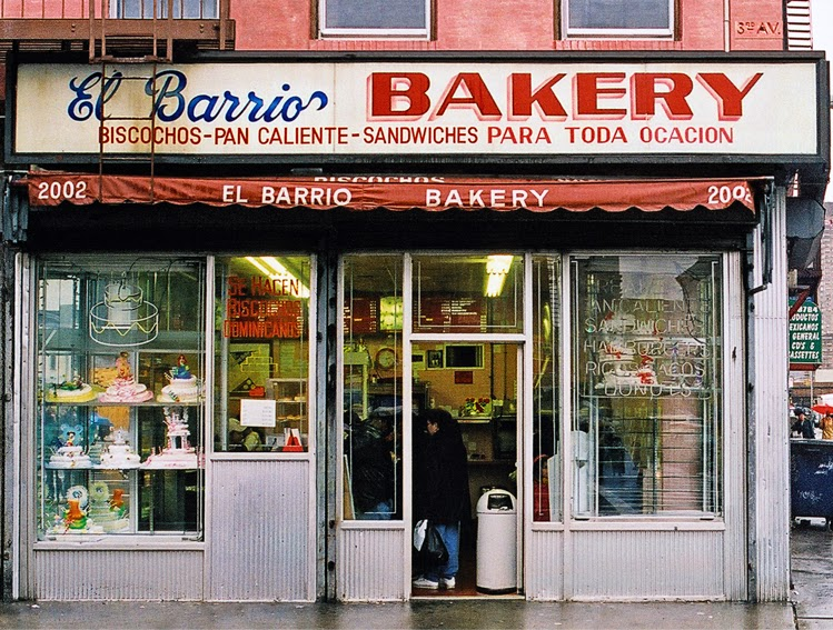 bakery shop front vintage