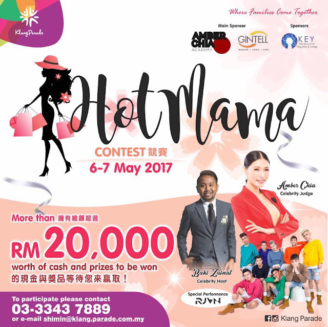 Klang Parade Hot Mama Contest for 2017 is Back
