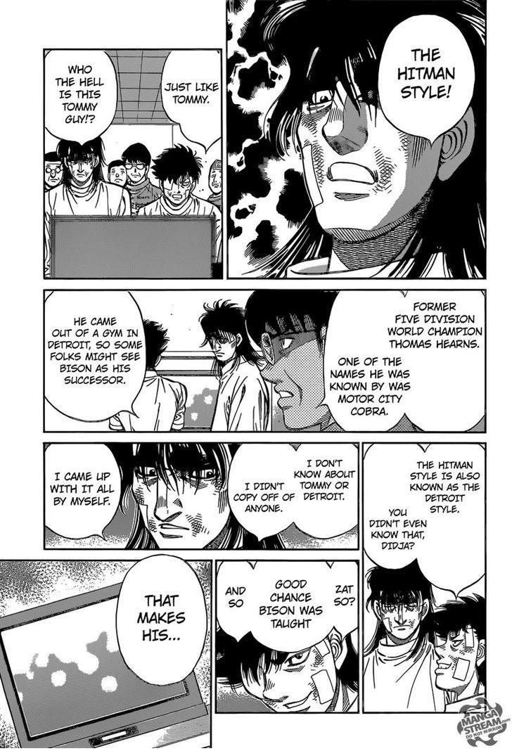Hajime no Ippo - Chapter 1097
