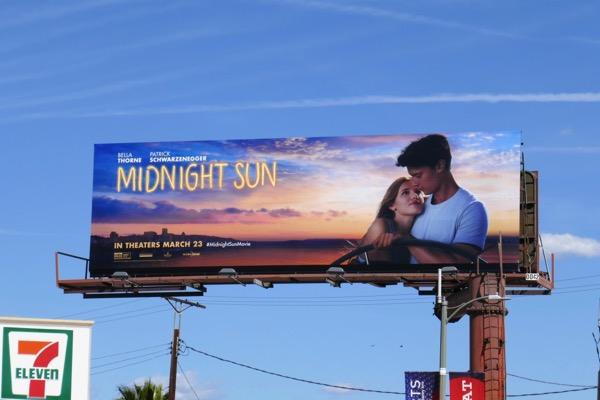 Midnight Sun movie billboard