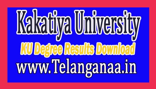 Kakatiya University KU Degree 2nd Year Supply Results Oct / Nov 2016 Download