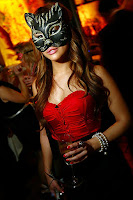 Liliana Benavides wearing a mask