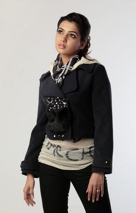 Samantha Beautiful Photoshoot In Black Dress