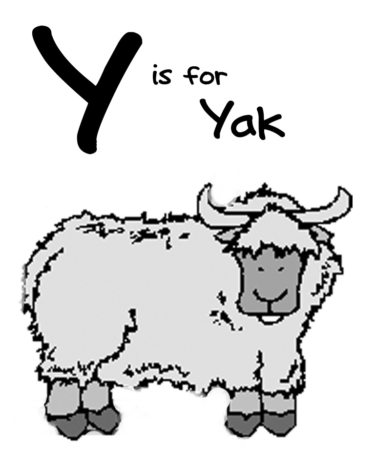 Letter Y Coloring Pages: We Love Being Moms!: February 2013