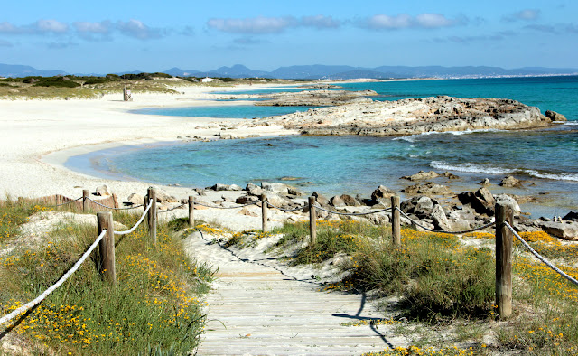Praia Llevant, Formentera