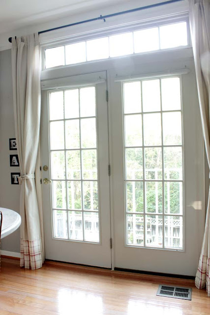 window - door with french panels and windows on the side. EAT art