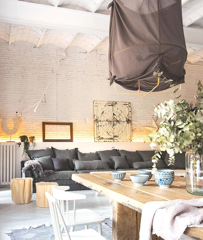 atelier rue verte le blog barcelone murs de briques. Black Bedroom Furniture Sets. Home Design Ideas
