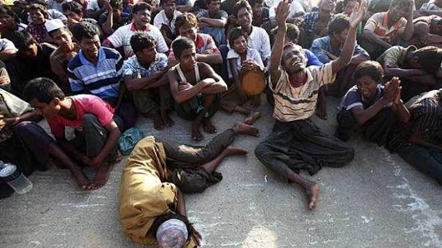 PBB: 132.000 Etnis Rohingya Dibiarkan Mati Kelaparan Oleh Rezim Myanmar